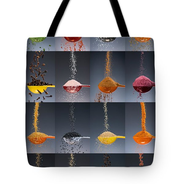 1 Tablespoon Flavor Collage Tote Bag
