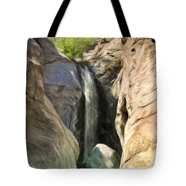 Tahquitz Falls Tote Bag