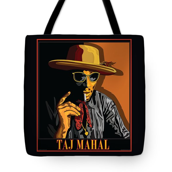 Taj Mahal Tote Bag by Larry Butterworth