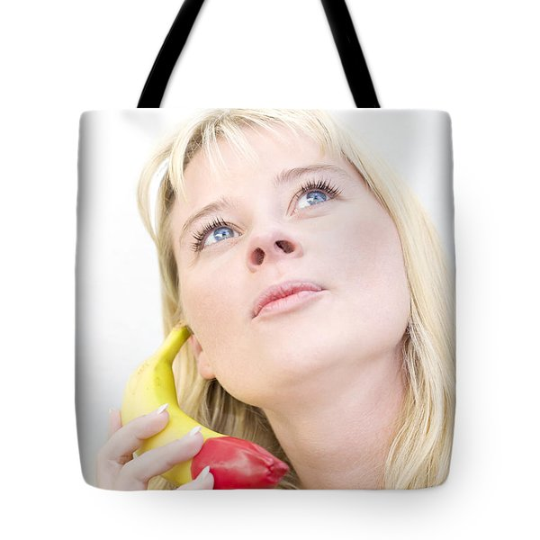 Talking Bananas Tote Bag by Jorgo Photography - Wall Art Gallery