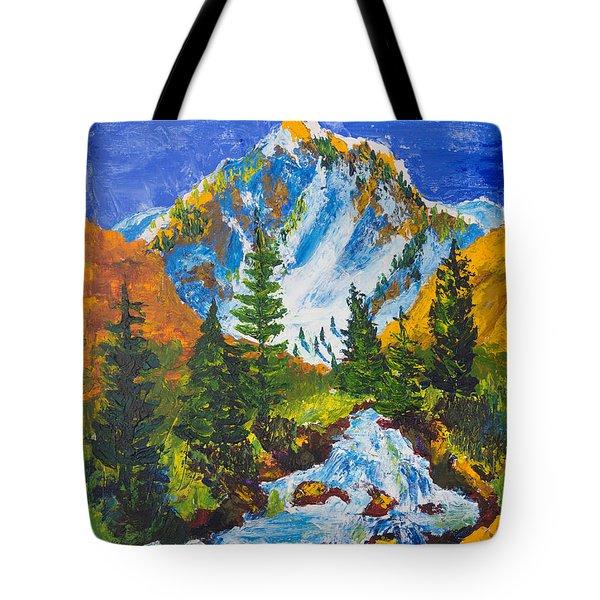 Taylor Canyon Run-off Tote Bag