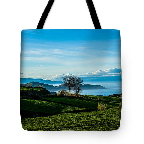 Tea Trees Tote Bag
