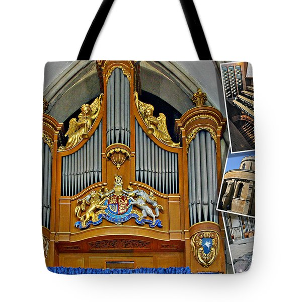 Temple Church London Tote Bag