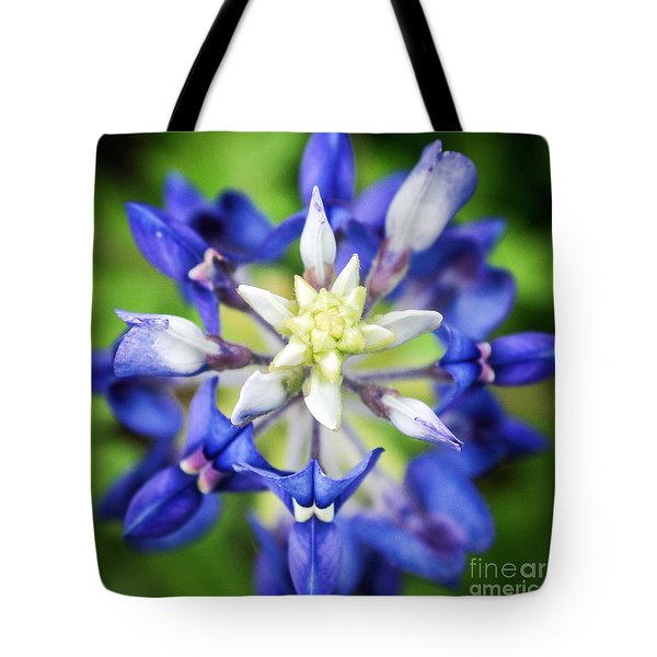 Texas Bluebonnet Tote Bag by Cheryl McClure