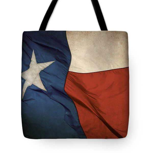 Rustic Texas Flag  Tote Bag