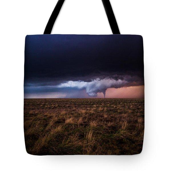 Texas Tornado Tote Bag