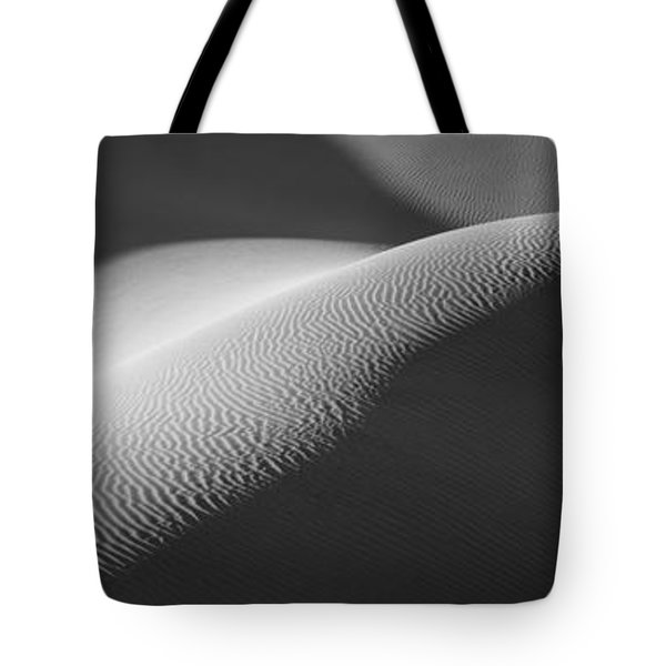 Texture Pattern On Sand Dunes Tote Bag