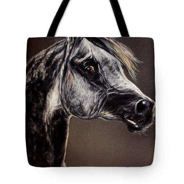 The Arabian Horse Tote Bag by Angel  Tarantella