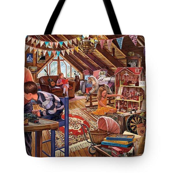 The Attic Tote Bag by Steve Crisp