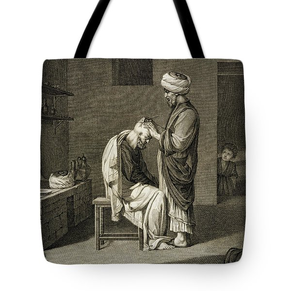 The Barber Tote Bag