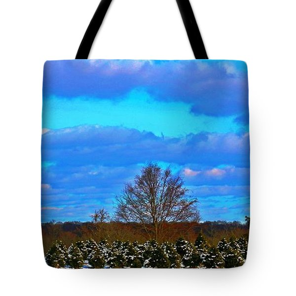 Tote Bag featuring the photograph The Beauty Of Nature by Judy Palkimas