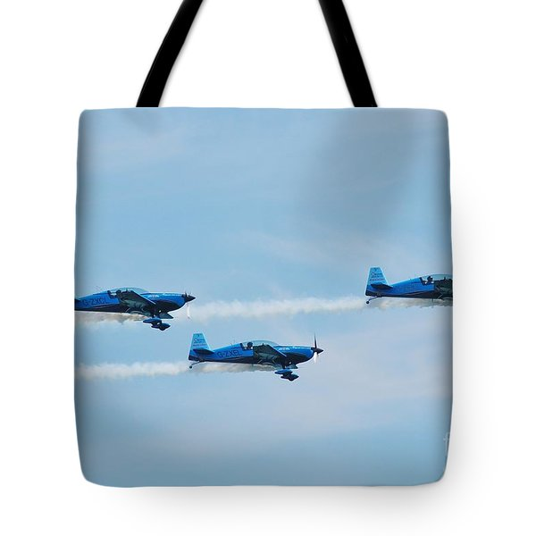 The Blades Aerobatic Team Tote Bag