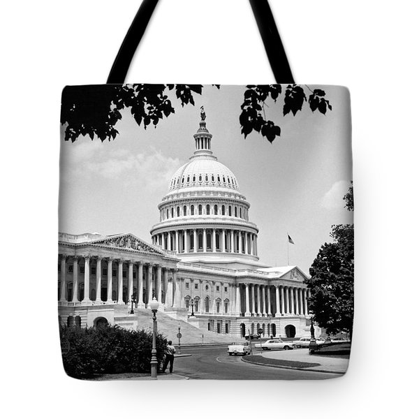 The Capitol Building Tote Bag by Underwood Archives