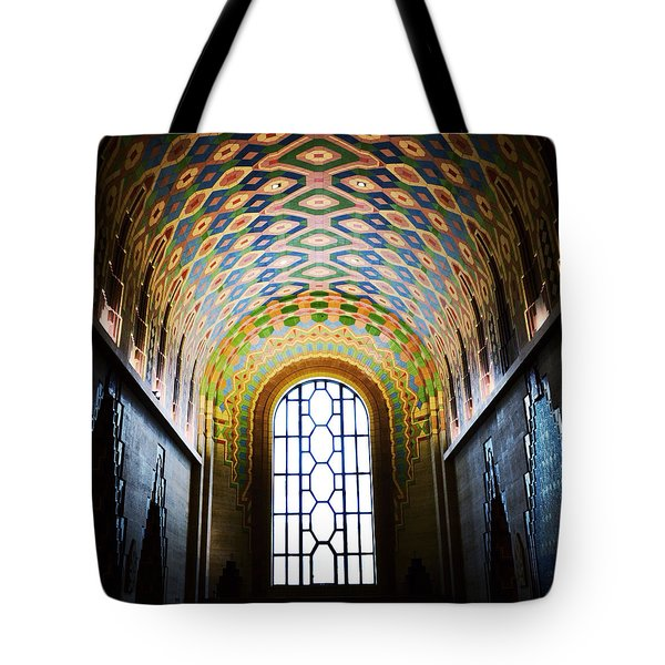 The Cathedral Of Finance Tote Bag