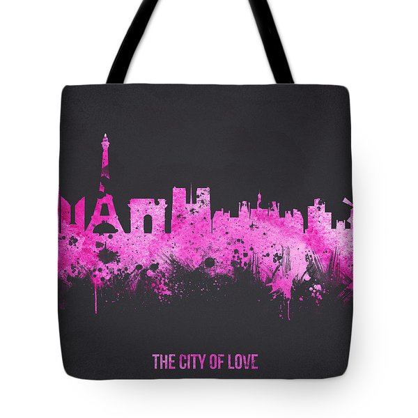 The City Of Love Tote Bag by Aged Pixel