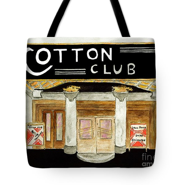 The Cotton Club Tote Bag