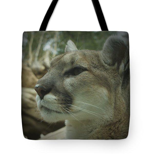 The Cougar 3 Tote Bag by Ernie Echols