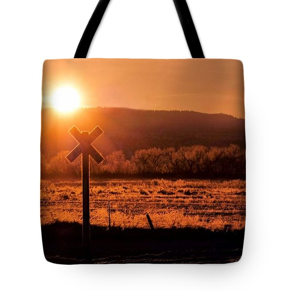 The Crossing Tote Bag