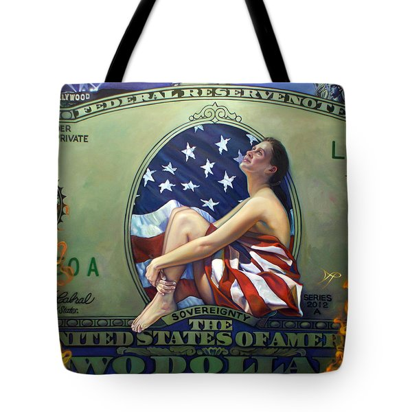 The Curse Of Freedom Tote Bag by Patrick Anthony Pierson