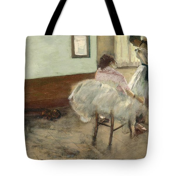 The Dance Lesson Tote Bag by Mountain Dreams