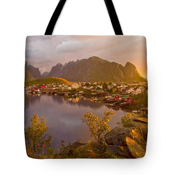 The Day Begins In Reine Tote Bag by Heiko Koehrer-Wagner