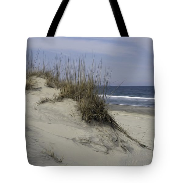 Tote Bag featuring the digital art The Dunes by Kelvin Booker