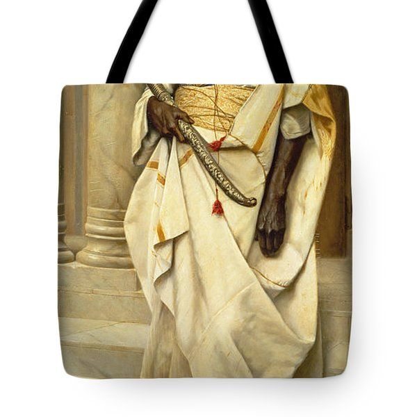 The Emir Tote Bag by Ludwig Deutsch