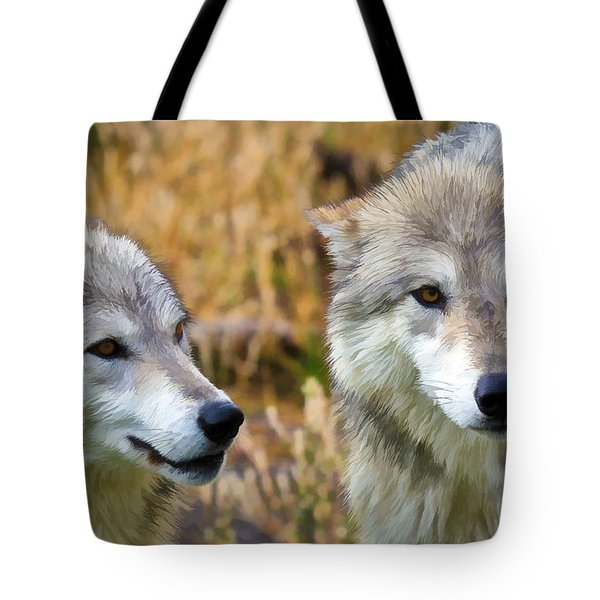 The Eyes Have It Tote Bag by Athena Mckinzie