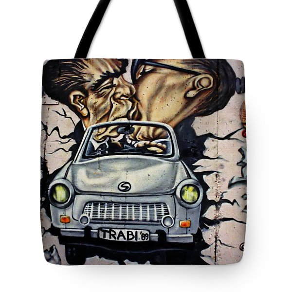 The Famous Kiss Tote Bag