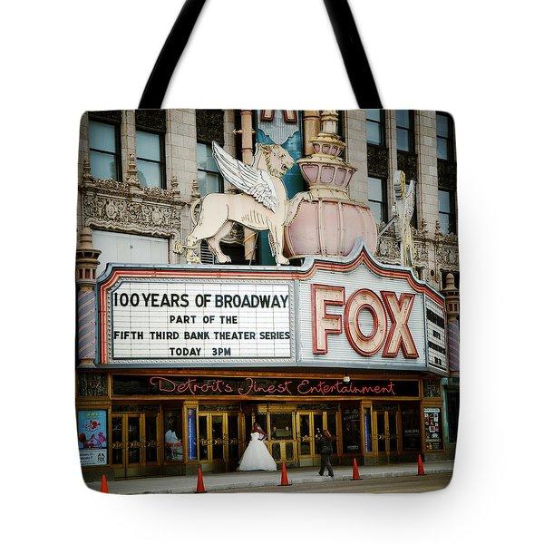 The Fox Theatre Tote Bag
