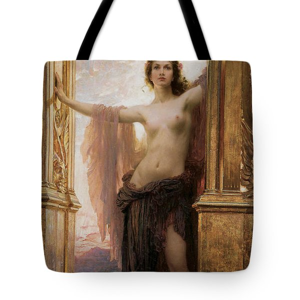 The Gates Of Dawn Tote Bag