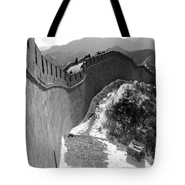 The Great Wall Of China Tote Bag by Sebastian Musial