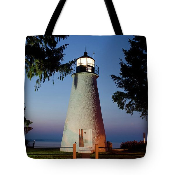 Concord Point Lighthouse Tote Bag