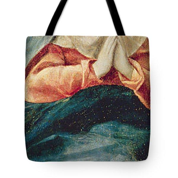 The Immaculate Conception  Tote Bag by El Greco Domenico Theotocopuli