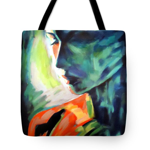 The Invisible Visible Tote Bag by Helena Wierzbicki