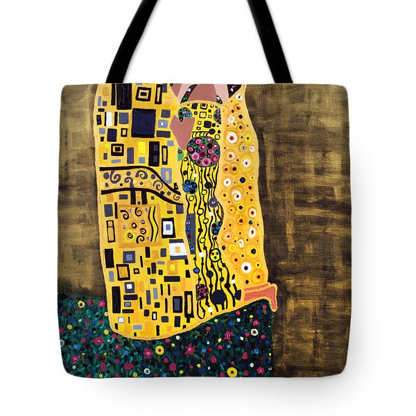 The Kiss Tote Bag by Angelina Vick