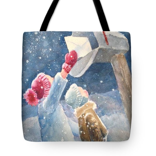 The Letter Tote Bag by Marilyn Jacobson
