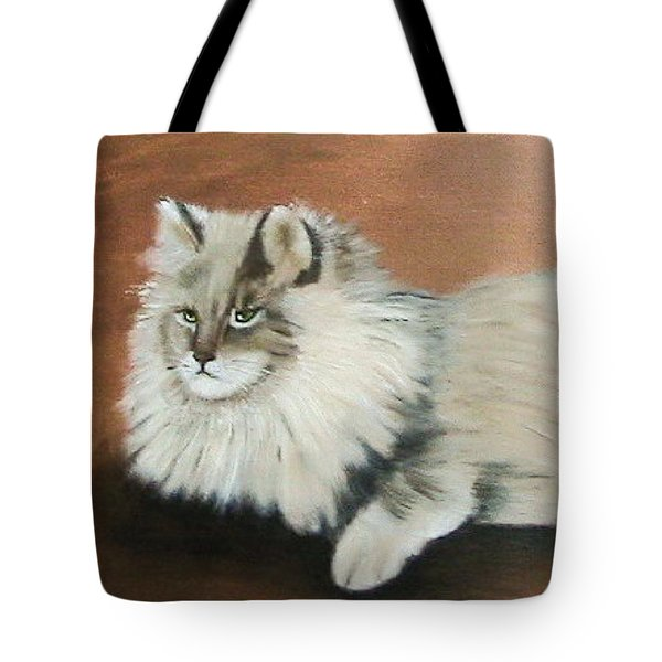 The Mane Cat Tote Bag