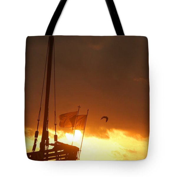 The Nina  Tote Bag by Leticia Latocki
