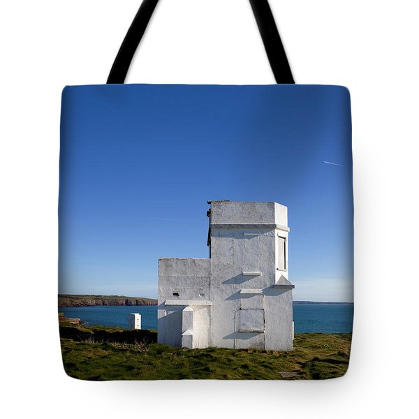 The Old Coastguard Station, Dunmore Tote Bag