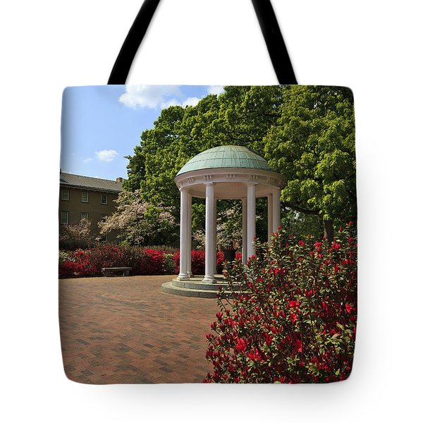 The Old Well At Chapel Hill Tote Bag