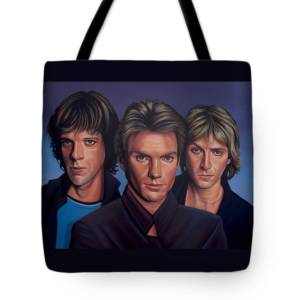 The Police Tote Bag by Paul Meijering