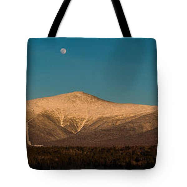 The Presidential Range White Mountains New Hampshire Tote Bag