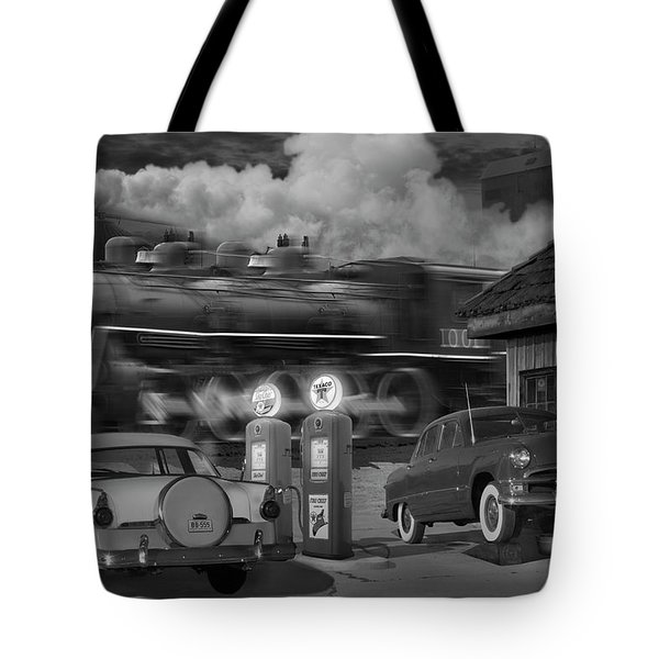 The Pumps Tote Bag by Mike McGlothlen