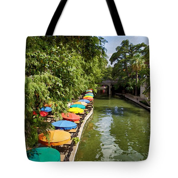 The River Walk Tote Bag by Erika Weber