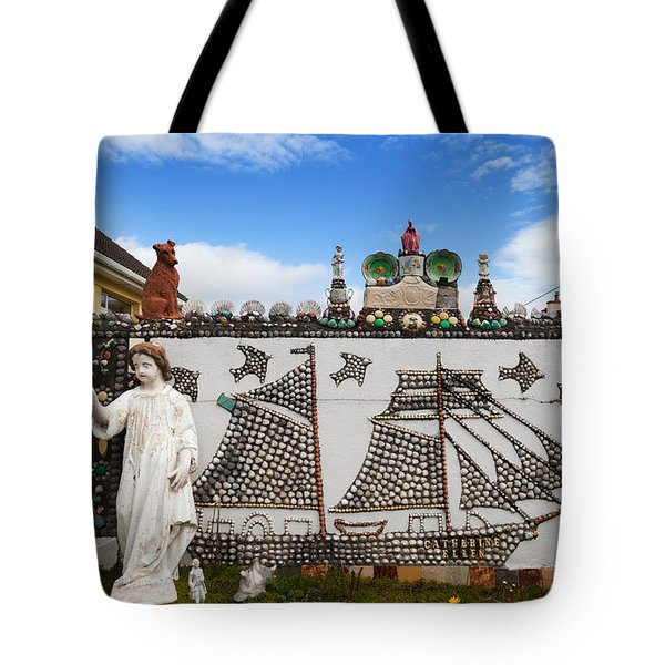 The Shell Cottage In Abbeyside Tote Bag