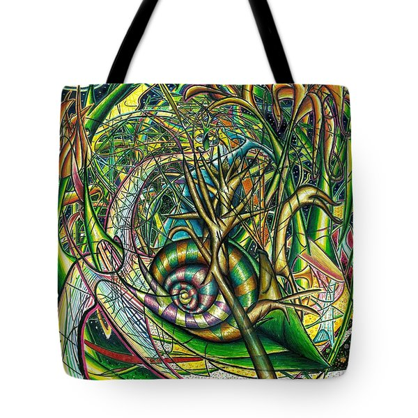 The Snail Tote Bag