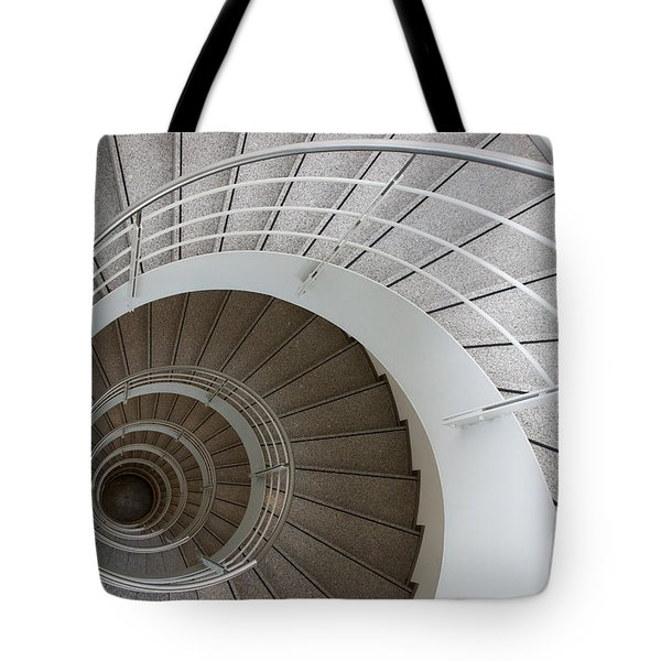 The Spiral  Tote Bag by Hannes Cmarits