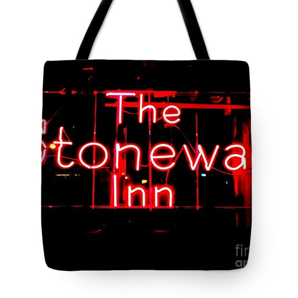 The Stonewall Inn Tote Bag by Ed Weidman
