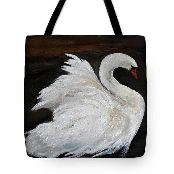 The Swans Of Albury Manor I Tote Bag by Barbie Batson